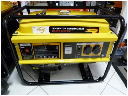 Бензиновый генератор DENZEL GE 4500 94636