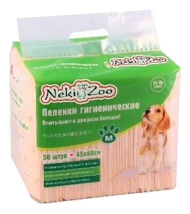 Пеленки для домашних животных Neki-Zoo для собак и кошек 50шт 45 x 60см 50шт
