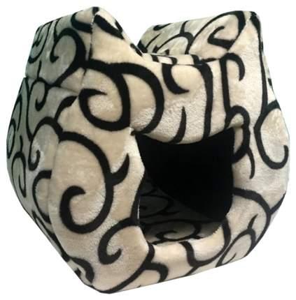 Домик для кошек PerseiLine КОШКА 00025/ДМС-4, в ассортименте, 38 х 40 х 40 см