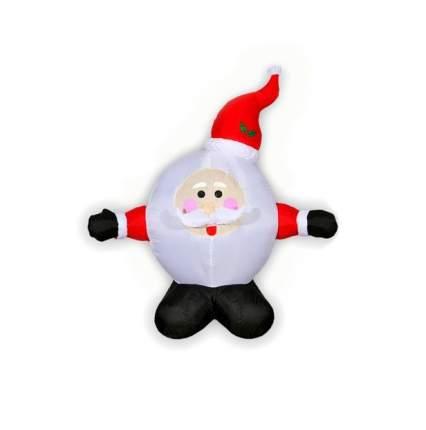 Надувная фигура Дед Мороз-колобок 1.2 м подсветка SCS-1/1,2