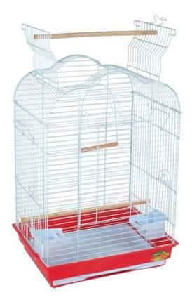 Клетка для птиц Triol 47,5x36x68 белый, красный