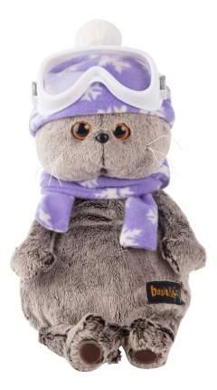 Мягкая игрушка BUDI BASA Ks25-049 Басик Лыжник, 25 см