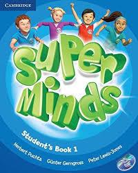 Super Minds 1 SB+DVD