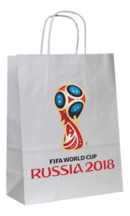 Пакет подарочный FIFA-2018 Крафт белый Т11026