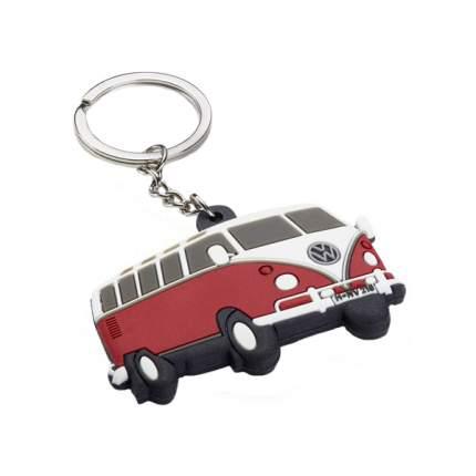 Брелок Volkswagen 2K0087010 для ключей с силуэтом t1 цвет красный белый