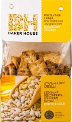 Хлебцы Baker House с семенами подсолнечника оливковым маслом и морской солью 250 г