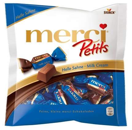 Шоколадные конфеты Merci peti молочные 125 г