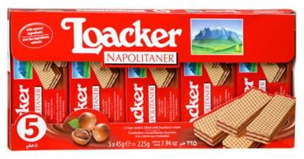 Вафли Loaker napolitaner с ореховой начинкой 225 г