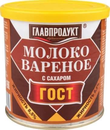 Молоко сгущенное Главпродукт с сахаром вареное 380 г