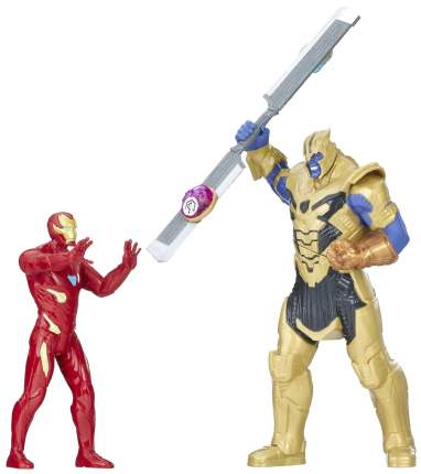 Игровой набор Marvel Hasbro Avengers Infinity War Железный Человек против Таноса E0559121