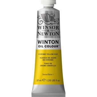 Масляная краска Winsor&Newton Winton желтый хром 37 мл