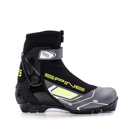 Ботинки для беговых лыж Spine Combi 468 SNS 2019, black/blue/lime, 44