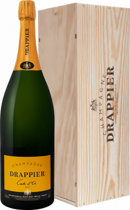 Drappier Carte d'Or Brut Champagne AOP in gift box