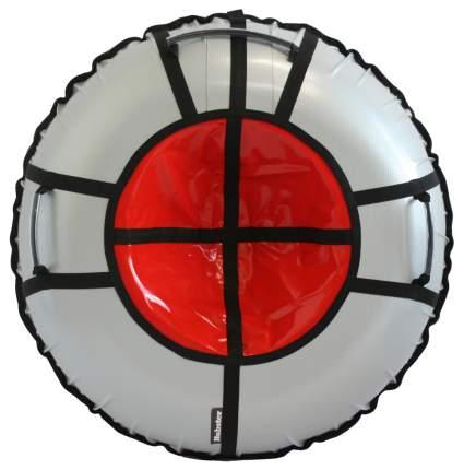 Тюбинг Hubster Ринг Pro серебро-красный 105 см