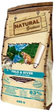 Сухой корм для кошек Natural Greatness Field&River Recipe, 600 г