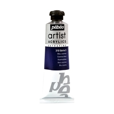 Акриловая краска Pebeo Artist Acrylics extra fine №3 синий космос 37 мл