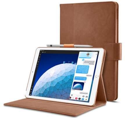 Чехол Spigen Stand Folio для iPad Air/Pro Brown