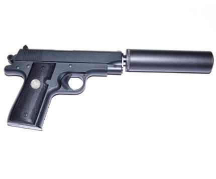Страйкбольный пружинный пистолет Galaxy (кал. 6 мм) G.2A (Browning с имитацией глушителя)