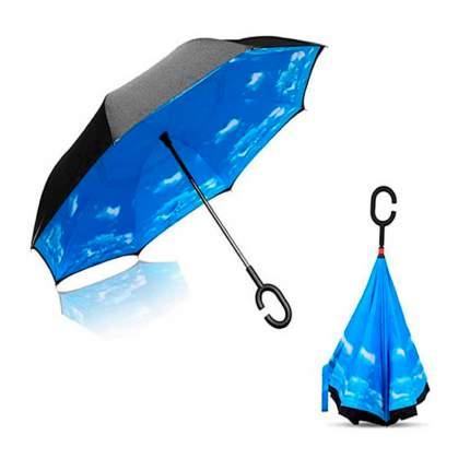 Зонт-трость UpBrella небесный