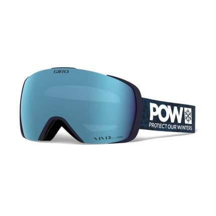 Горнолыжная маска Giro Contact 2020 Protect Our Winters/Vivid Royal/Vivid Infrared