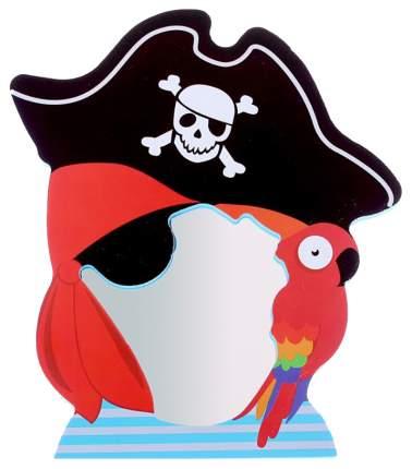 Зеркало мягкое для игры в ванной «Пират» Крошка Я