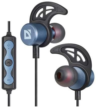 Беспроводные наушники Defender FreeMotion B685 Black/Blue