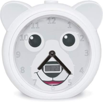 Часы-будильник Zazu Медвежонок Бобби ZA-BOBBY-01 (White)
