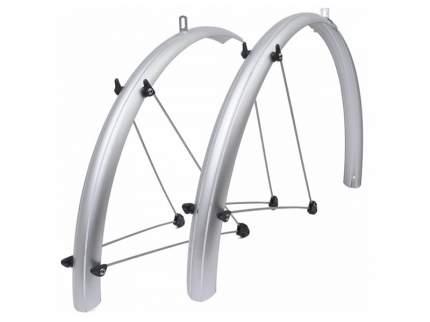 Комплект велосипедных крыльев SKS PET SPB серый