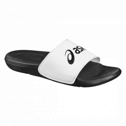 Шлепанцы Asics Sandals P72NS, black/white, 38.5 RU