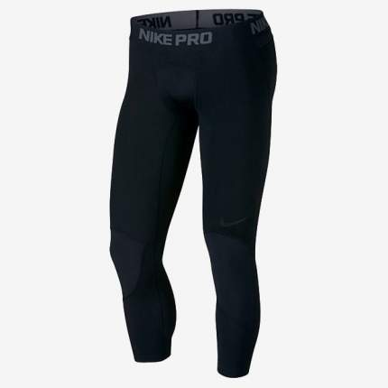 Тайтсы Nike Pro Dri-FIT Mens 3/4, black, L