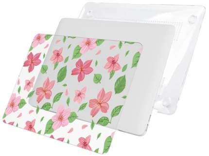 "Чехол для Macbook Air 13"" i-Blason Cover pink flowers"