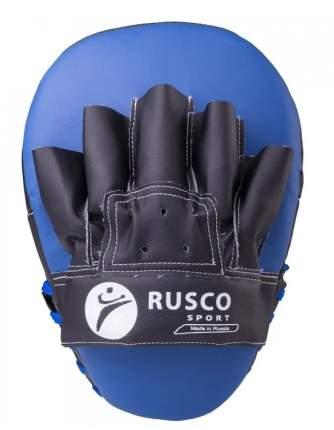 Лапы боксерские Rusco (изогнутые), искусственная кожа