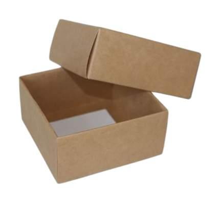 Коробка крафт, 100х100х50 мм, 5 штук