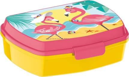 Ланч-бокс пластиковый Stor Фламинго, артикул 29174