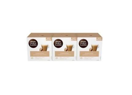 Кофе в капсулах  Nescafe Dolce Gusto Кортадо 3 штуки по 16 капсул