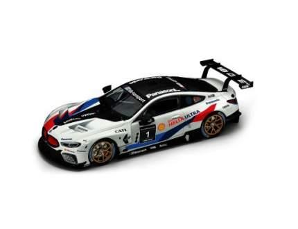 Модель гоночного автомобиля BMW M8 GTE