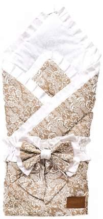 Одеяло на выписку AmaroBaby ЭЛИТ кофе