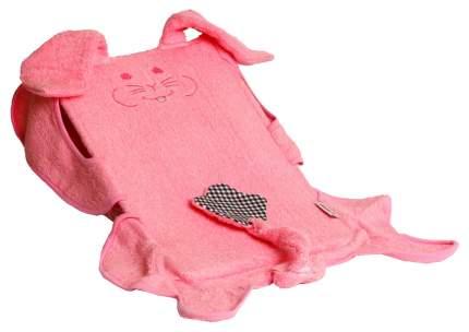 """Лежачок для купания """"Плюшевый котенок"""", 42x25x15 см (розовый)"""