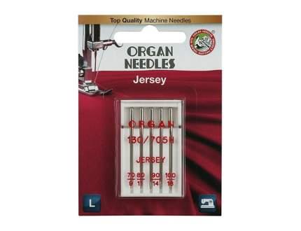 Иглы Organ джерси 5/70 -100 Blister