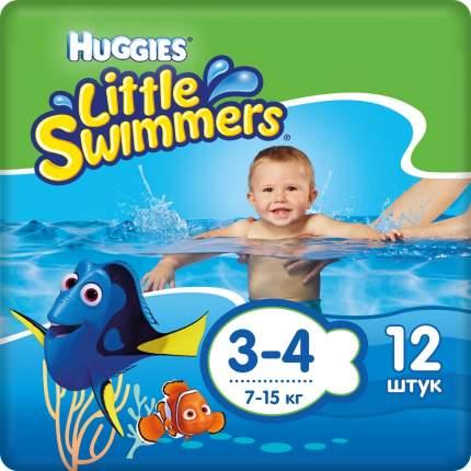 Подгузники-трусики для плавания Huggies Little Swimmers р. 3-4, 12 шт.