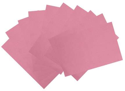 Декоративный фетр Soft, розовый, 10 листов Мир Рукоделия
