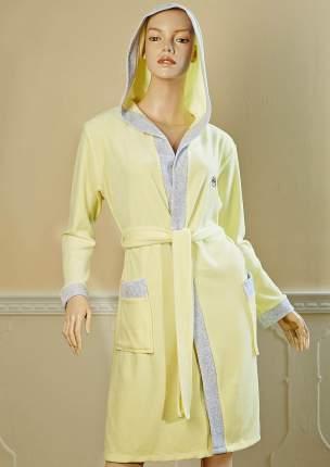 Банный халат Primavelle Smile Цвет: Светло-Лимонный (S-M)