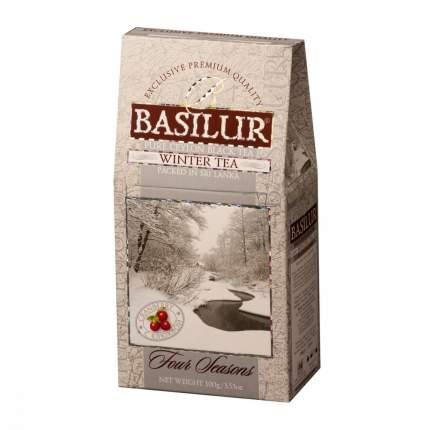 Чай Basilur Времена года - Зимний черный с добавками 100 г