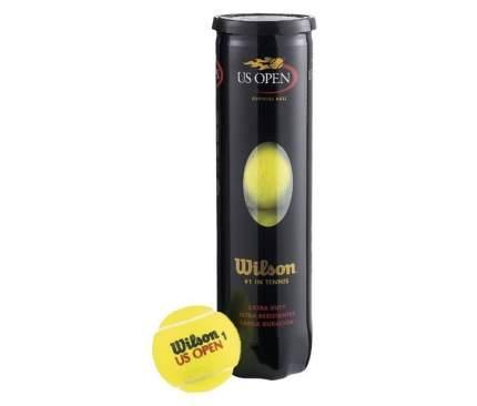 Мяч теннисный Wilson US Open HV T1162 4шт, желтый