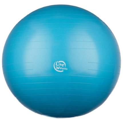 Мяч гимнастический Lite Weights 1867LW 75 см, голубой