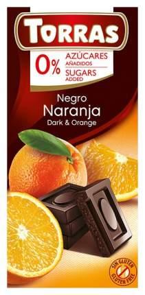 Шоколад Torras темный с апельсином