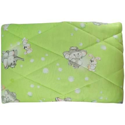 Одеяло стеганое Папитто шерсть 110*140 Салатовый 0009