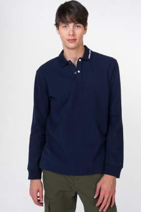 Поло мужское Tommy Jeans DM0DM05510 синее XXL