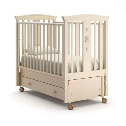 Детская кровать Nuovita Fasto swing продольный Avorio, Слоновая кость