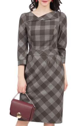 Платье женское Grey Cat GPL00017Z(MALVINA) коричневое 48 RU